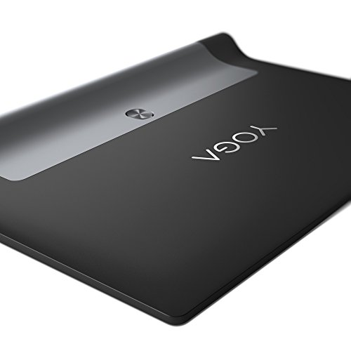 "Lenovo Yoga Tab3 10 YT3-X50L - Tablet con Display da 10"" IPS, Processore Qualcomm Snapdragon MSM8909 QC, 2 GB di RAM, 16GB eMMC, Fotocamera posteriore da 8.0 Megapixel con Auto Focus, LTE, Nero"