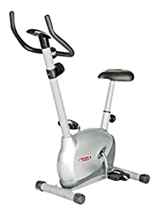 Cardio Max JSB Cardio Max HF73 Magnetic Upright Bike Fitness Exercise Cycle,Silver
