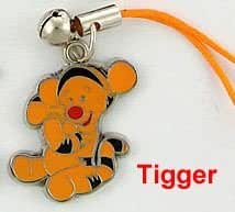 Disney Winnie the Pooh Mobile Cell Phone/Bag Charms. Tigger