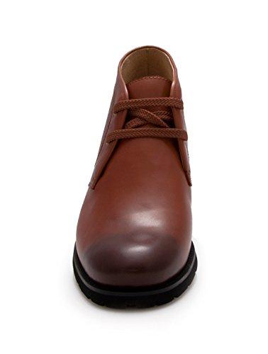 ZERIMAR Scarpe da uomo che permettono di aumentare la statura ¡ATTENZIONE OFFERTA SPECIALE 7,5 ANNIVERSARIO! fino a +7,5 cm 100% pelle Marrone