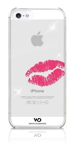 White Diamonds WDIP5KISS Lippenstift/Kuss Handy Case für Apple iPhone 5/5S/SE Lippenstift Kuss