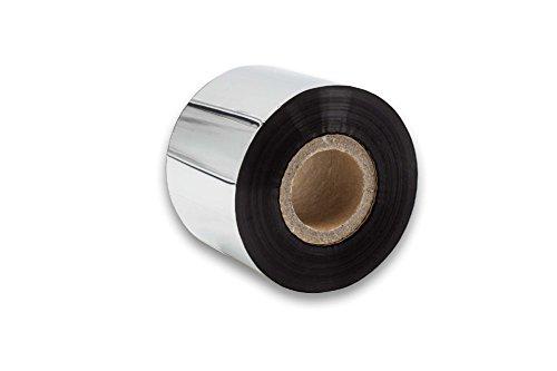 Vhbw Rollo Papel térmico Negro 50mm fax Impresora