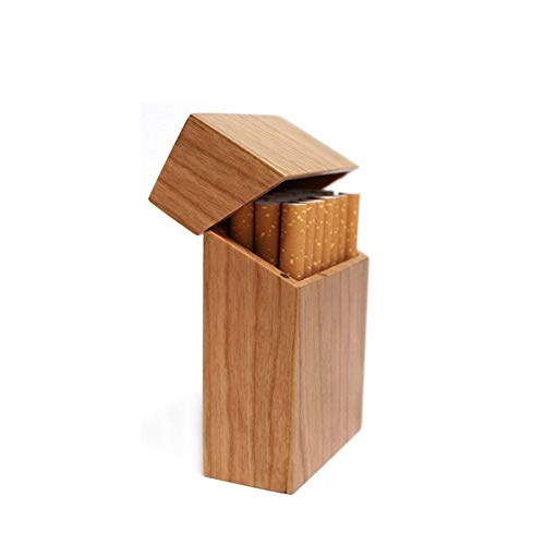 Redwood Box (Wooden Cigarette Box_Redwood und Cherry Wood & Bambook Zigarettenschachtel, Cherry Wood)