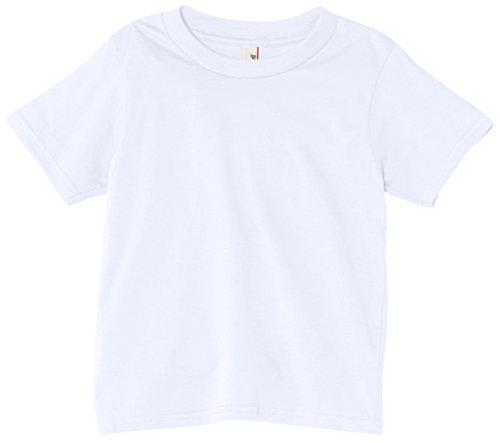 anvil Jungen Basic T-Shirt / 990B, Gr. 164 (XL), Weiß (WHT-White) (Wht Xl-t-shirt)