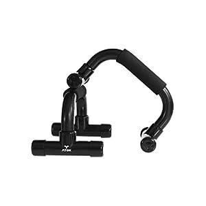 ATOK Liegestützgriffe – 2 Premium Griffe für Liegestütze – zwei Push Up Stand Bars Grips – gelenkschonend & gesund für Fitness Training & Workout