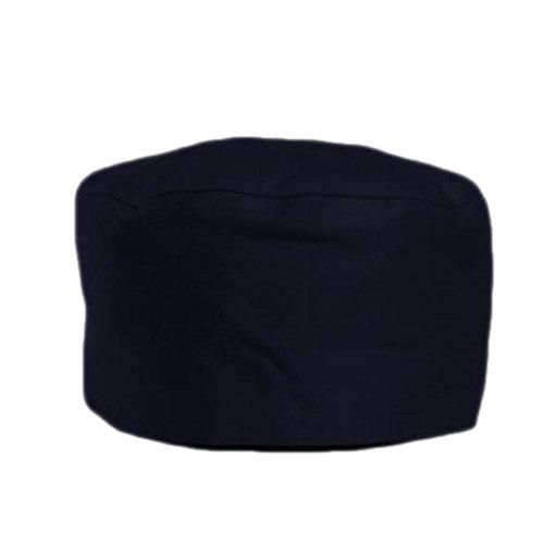 Japanische Mode-Koch-Hüte Hotel-Café-flache Hut-justierbarer Chef Hats-Gras-Schwarz