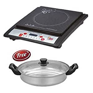 "iNext ''I-Next"" Induction Cooker/Cook-Top With Free Induction Pot/Kadai & Lid"