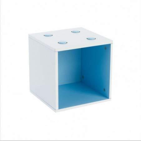 Cube de rangement empilable - Bleu