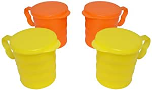 Tupperware Carribean Mug Set, Set of 4