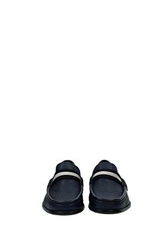 6193623DARKNAVY Bally Loafers Herren Leder Blau Blau