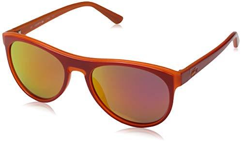 Lacoste Unisex-Erwachsene L782S Sonnenbrille, Orange, 54