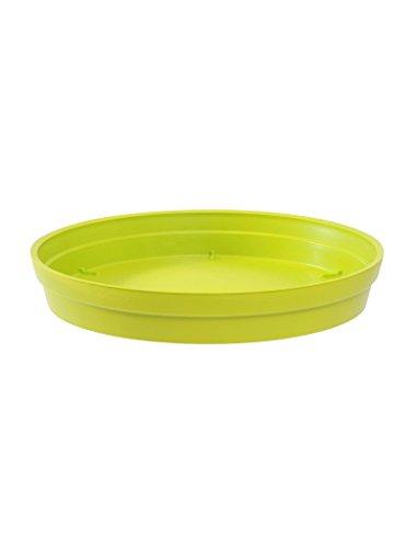 Soucoupe Vert chartreuse pour Pot rond Toscane Ø 22,5 cm