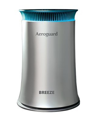 Eureka Forbes Aeroguard Breeze Air Purifier With 5 Stage Active Shield Filtration System By Isha Sales.