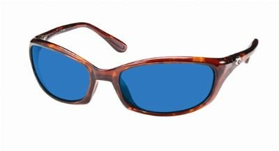 Costa Del Mar Sunglasses - Harpoon- Glass / Frame: Shiny Tortoise Lens: Polarized Blue Mirror Wave 580
