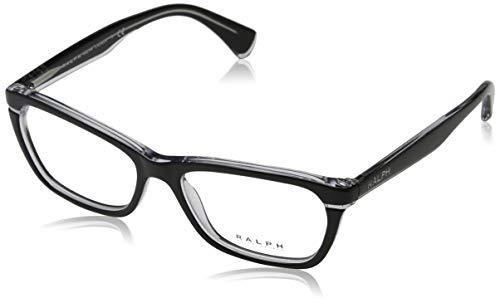 Ralph 0Ra7091 Brillenträger Black/Crystal, 53 für Damen Ralph Lauren Crystal