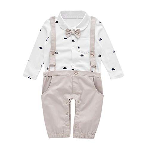 Bambini ragazze tute neonati vestiti completo bambini pantaloni vestiti set bambini bambino signore barca stampa bowtie pocket romper abbigliamento tuta