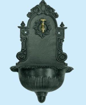 Fontana eden in ghisa fontane a muro arredo giardino