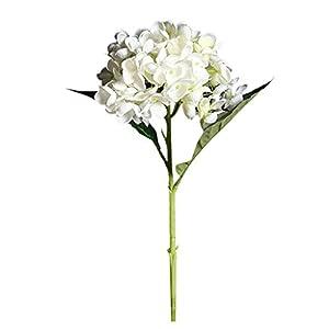 RYTEJFES Flor De Hortensia Artificial Simulación Ramo De Flores Decoraciones Falsa Flor Decoración del Hogar Adorno Hogar Sosteniendo Flores para Boda Cumpleaños Día De La Madre Jardín Fiesta