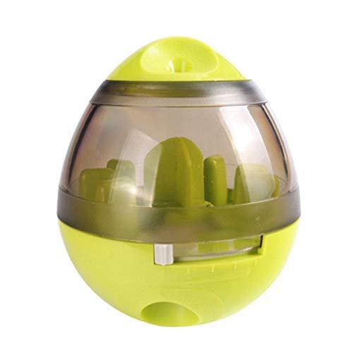 Alexsix Haustier Hund Iq Test Leckerli Spender Futter Ball Verteilende Welpe Futter Spielzeuge - Grün
