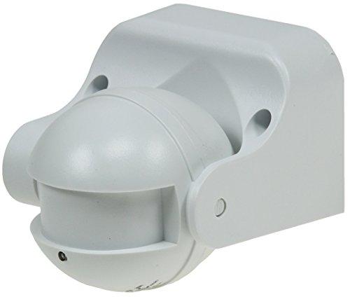 Aufputz Bewegungsmelder 'CBM HF' 180° LED geeignet, IP44, 1-1200W, weiß