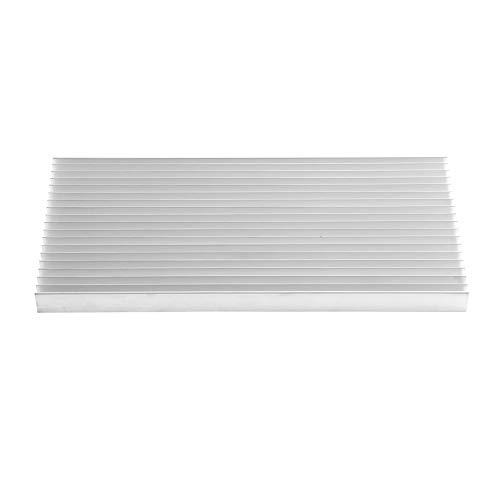 DGTRHTED Kühlkörper - Aluminium-Kühlkörpermodul-Kühler Fin 300 * 140 * 20MM for Hochleistungs-LED-Licht -