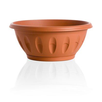 Bama Alba bols avec soucoupe,, 35 cm terre cuite