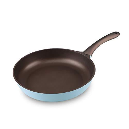 Sartén Antiadherente, Compatible con Inducción, Sartén, Saute Pan, Lavavajillas, Caja Fuerte, Horno, Caja Fuerte,Blue,20Cm