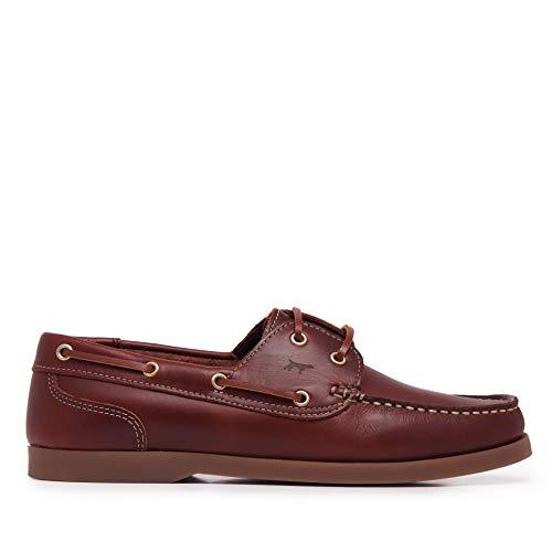 Zapatos Náuticos de Piel para Hombre - SonCastellanisimos