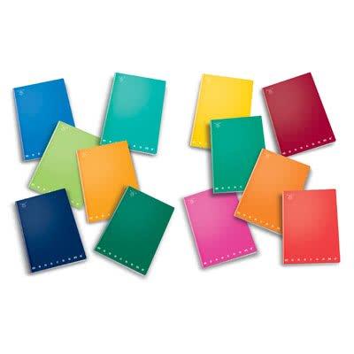 Pigna 0221778-7 quaderni monocromo pigna, a5, 40+r ff, 4 mm, quadretti, confezione 10