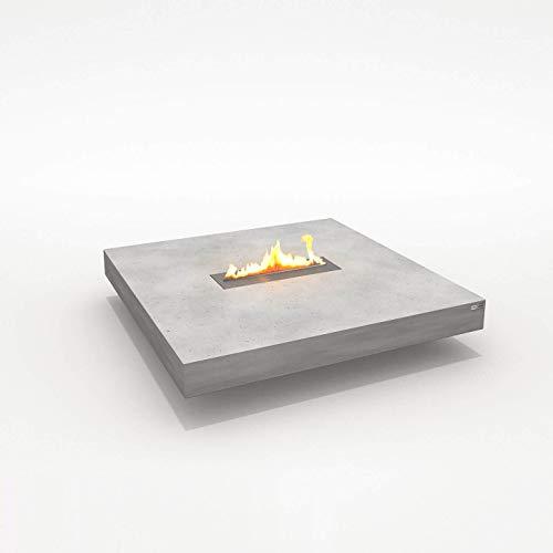 CO33 Loungetisch mit Kamin (Ethanol) aus Beton Tabula IGNIS