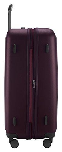 HAUPTSTADTKOFFER - Tegel - Hartschalenkoffer Koffer Trolley Rollkoffer Reisekoffer, TSA, 75 cm, 128 Liter, Burgund - 3