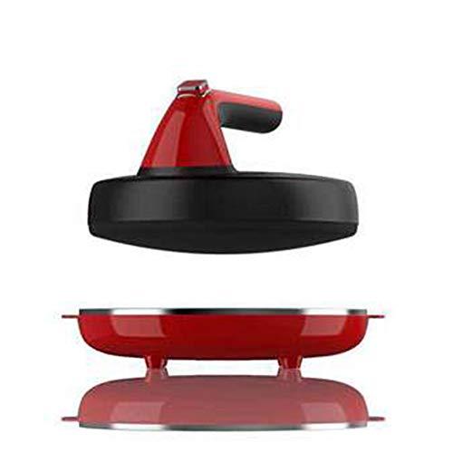 Elektrokrepp 600 W, 23 Cm Durchmesser, Ideal Für Pfannkuchen Und Pfannkuchen, 100% Antihaftbeschichtete Oberfläche (21 * 21 * 10 Cm)