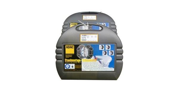 Adac Standmontage Schneeketten Pkw Für Die Reifengröße 155 70 R15 TÜv Ö Norm Und Cuna Auto