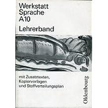 Werkstatt Sprache - Ausgabe A. Für Baden-Württemberg: Lehrermaterialien