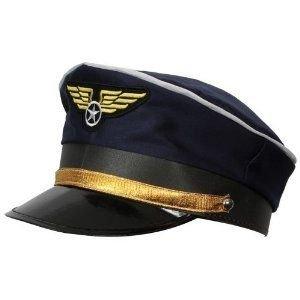Costumes Accessoires En Ligne - Deguisement Chapeau Pilote de