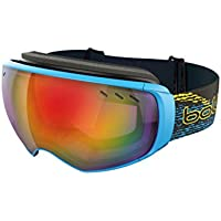 Bolle Vituose Goggle with Sunrise and Lemon Gun Lens - Black/Cyan, Large