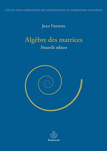 Algèbre des matrices