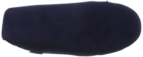 SNUGRUGS Lambswool Suede With Soft Sole, Chaussons homme Bleu - Blau (Marineblau)