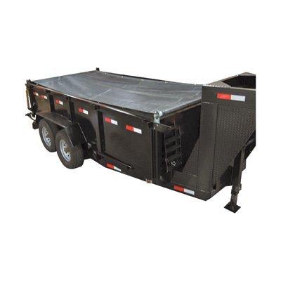 TruckStar Mesh Dump Tarp Roller Kit - For 14-16ft. Dump Trailers, 6 1/2ft. x 18ft., Model# DTR6518 by TruckStar