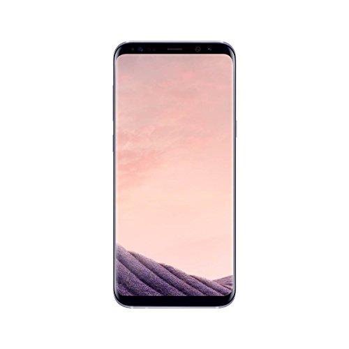 samsung galaxy s8 sm-g950f smartphone single sim 4g, 64gb, 14.7 cm (5.8), 12 mp, android, grigio orchidea [versione spagna]
