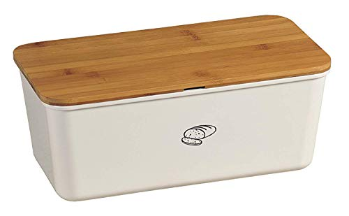 Kesper 18090 Brotbox Melamin Bambus, 34 x 18 x 14...