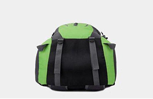 Outdoor Bergsteigen Rucksack Multifunktions Sport Schulter Tasche Green