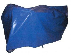 Schutzhülle Fahrrad-Faltgarage (Ausführung: 200 x 100 cm blau)