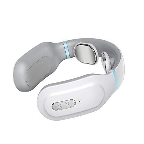 EnjoyFun- Büropersonal Zervixmassage Impulstherapie Physiotherapie Wärmekissen USB Schnellladung Nacken Schulter Muskelentspannung Vibrationsring (Color : Standard) - Integrative Körper