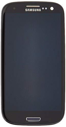 Samsung MEA Front Octa Ersatz-Display LCD für GT-i9300Digibaba Microfasertuch schwarz (I9300 Lcd-bildschirm-ersatz)
