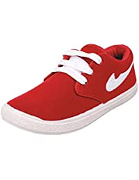 SKYMATE Red Casual Sneakers for Boys(7yrs-15yrs)