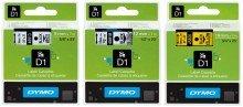 Preisvergleich Produktbild Dymo Schriftbänder D1/S0720680 schw./weiß 9x7