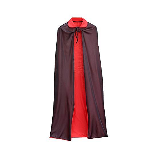 QSEFT Erwachsenen Kind Halloween Kostüm Mit Kapuze Mantel -