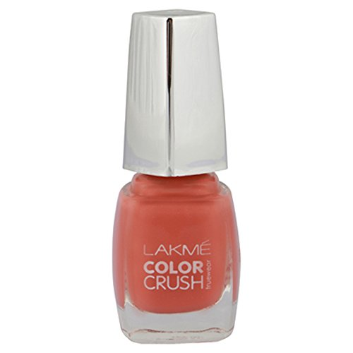 Lakme True Wear Color Crush Nail Color, Pinks 19, 9 ml