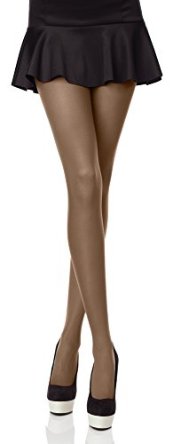 Merry Style Collant Opaque Lisse Microfibre Vêtements Femme 40 DEN (Havane, XS/S (Taille du Fabricant: 1/2))